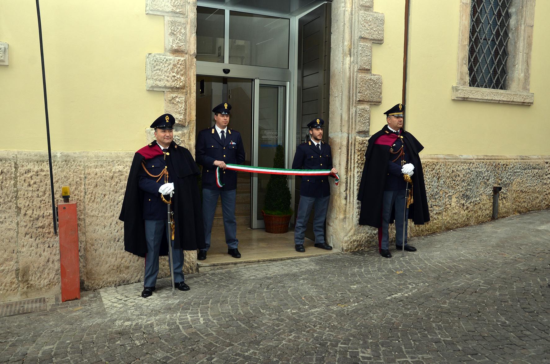 Galleria Inaugurazione nuova Palazzina Medievale Questura ...