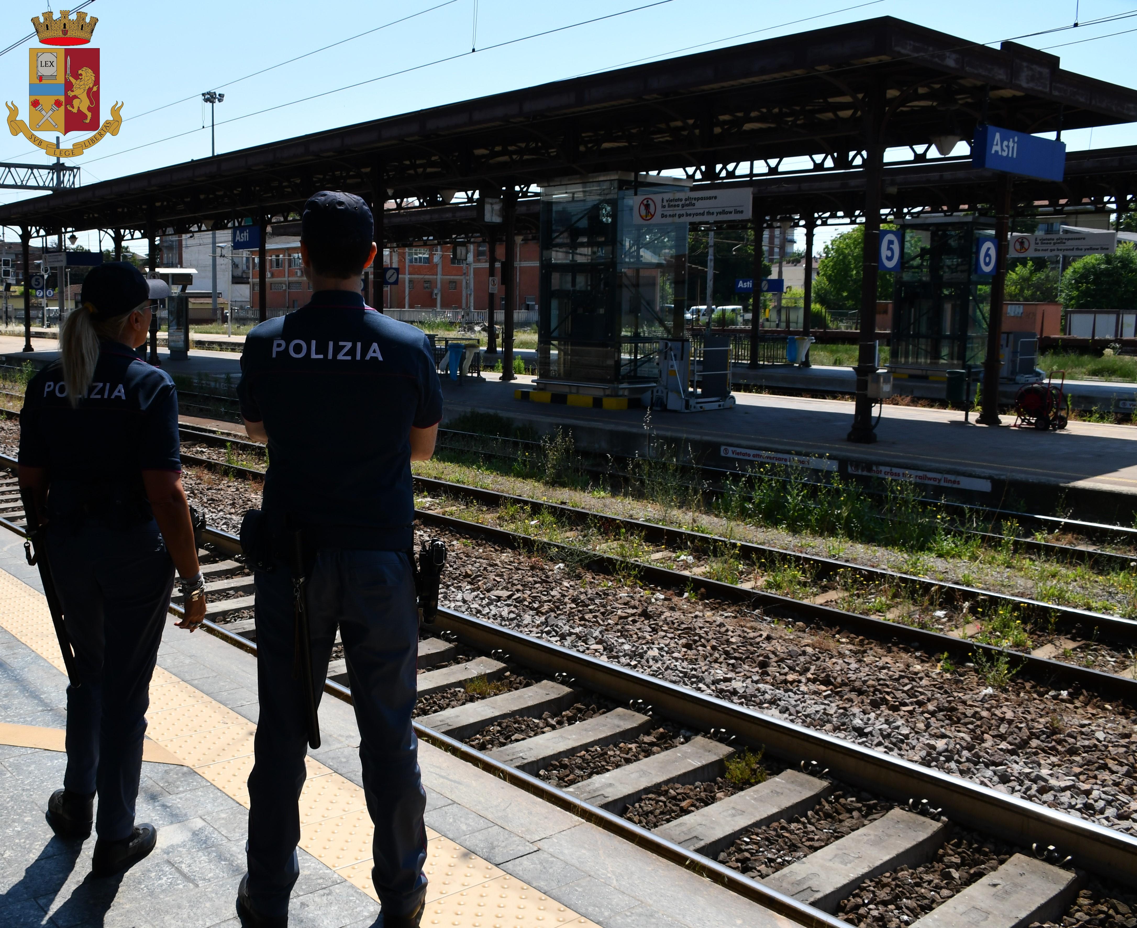 Ordine Di Carcerazione Rintracciato In Stazione Di Asti Dalla Polizia Di Stato