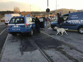 Controlli e sequestri in ambito urbano