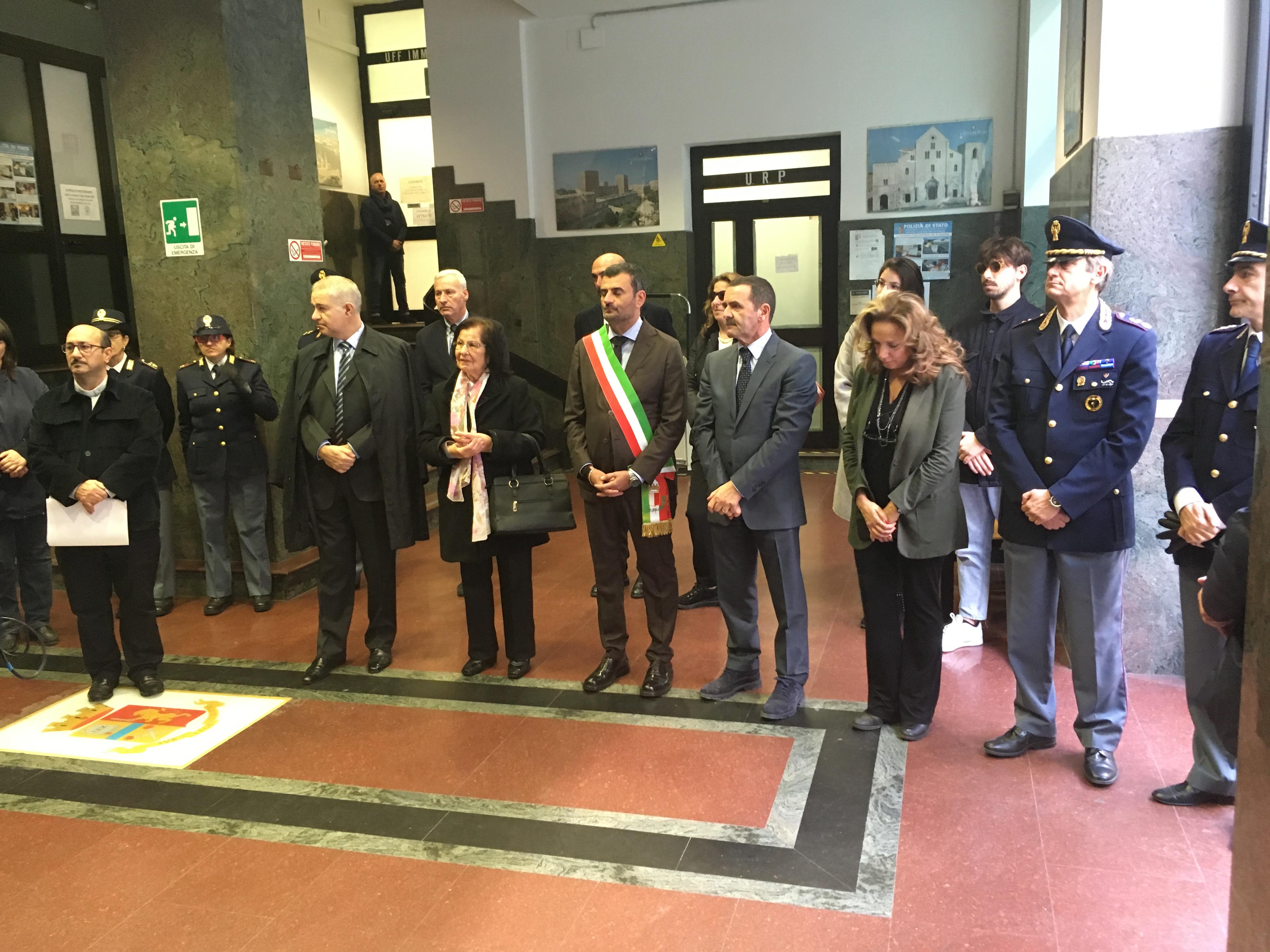 Bari - Cerimonia Commemorativa Appuntato di P.S. Giuseppe ...
