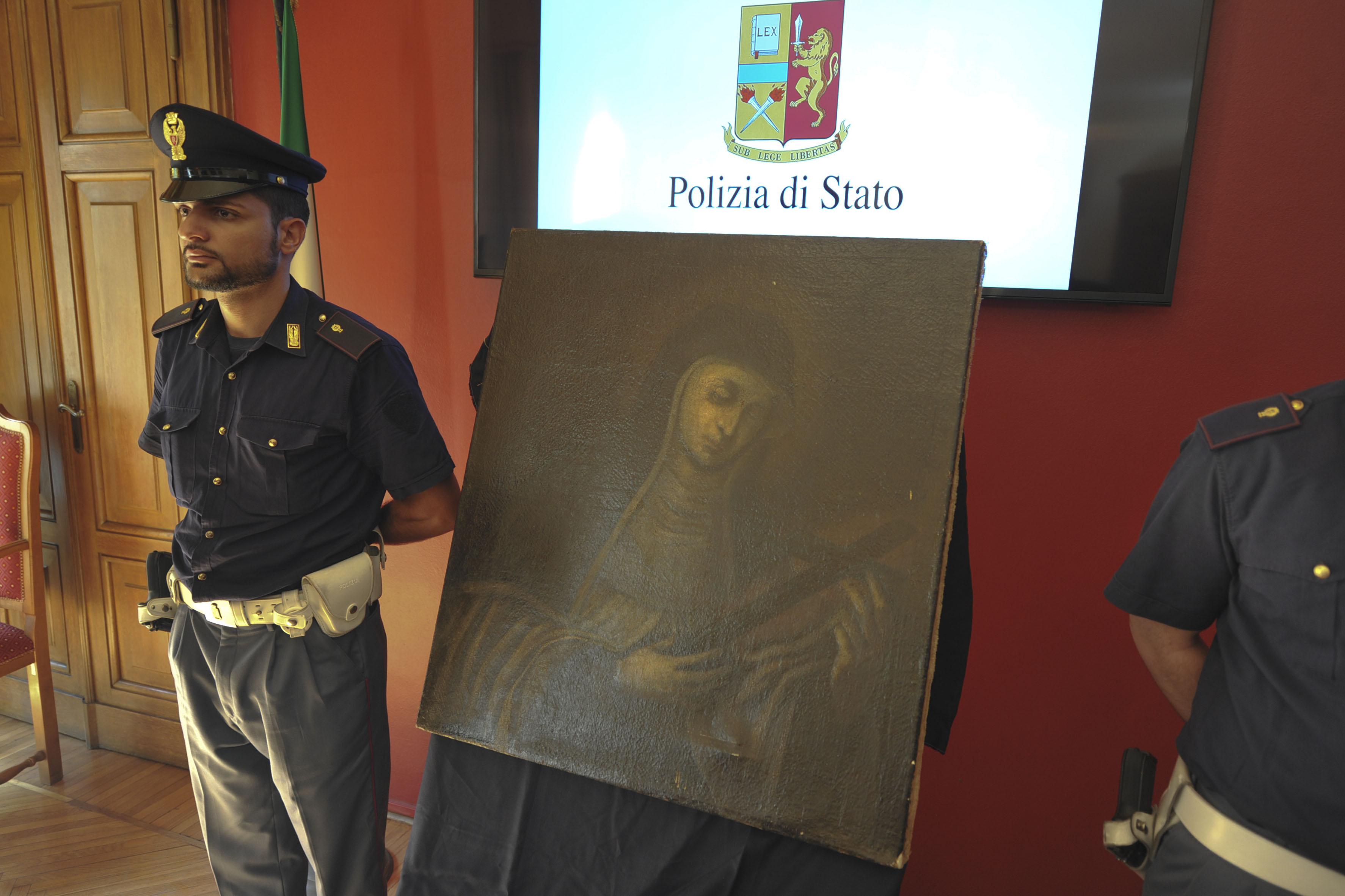 Torino la polizia di stato ha ritrovato un 39 opera d 39 arte for Polizia di stato torino permesso di soggiorno