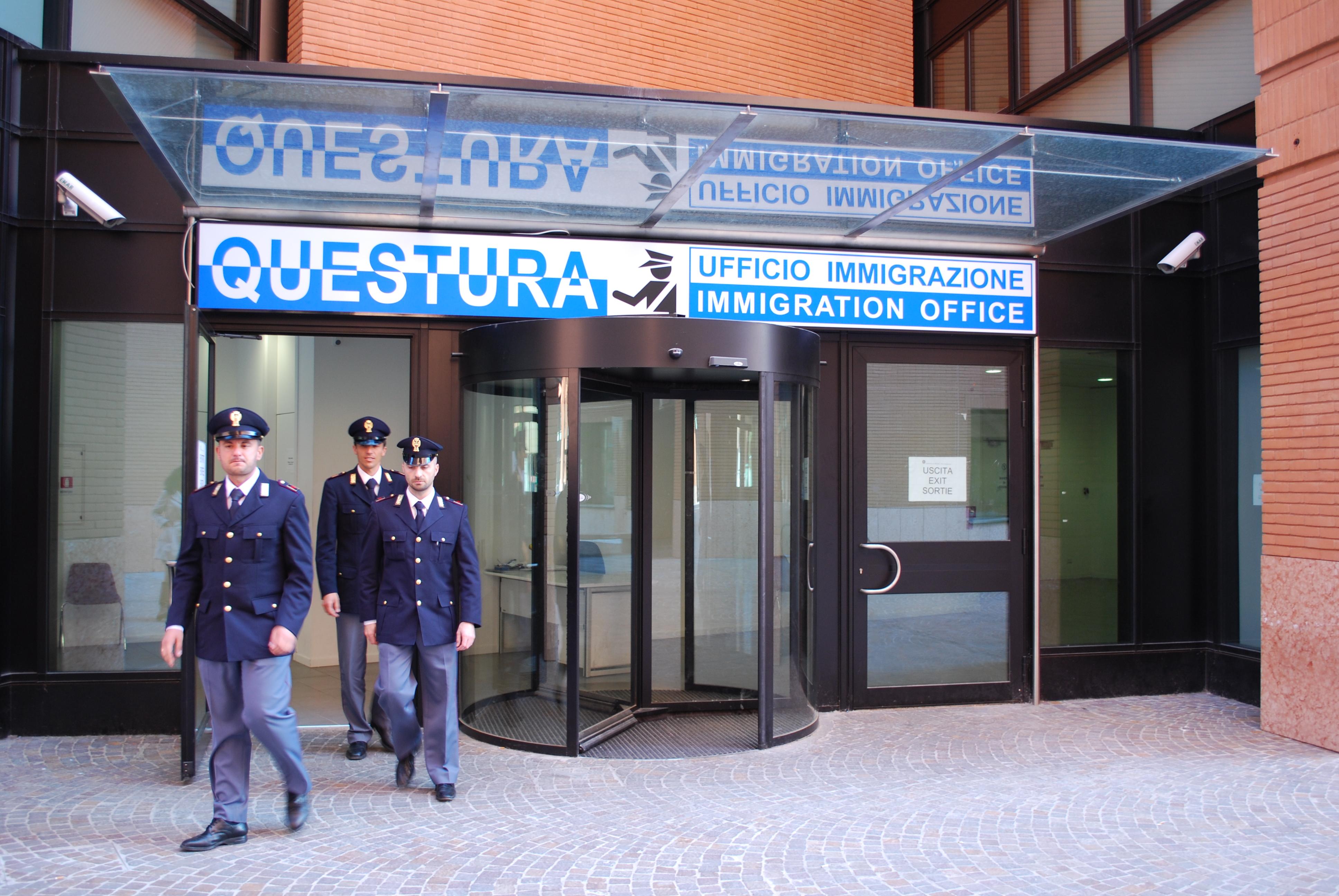 Polizia di stato questure sul web treviso for Questura arezzo permesso di soggiorno