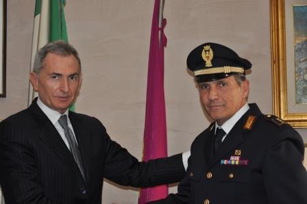 Ultimo giorno di servizio per l'Ispettore Capo Giovanni Cioffi