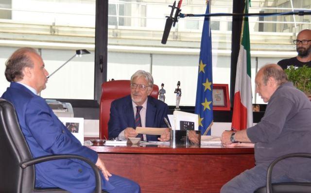 """Il Commissario Coletti"""" approda alla Questura di Verona"""