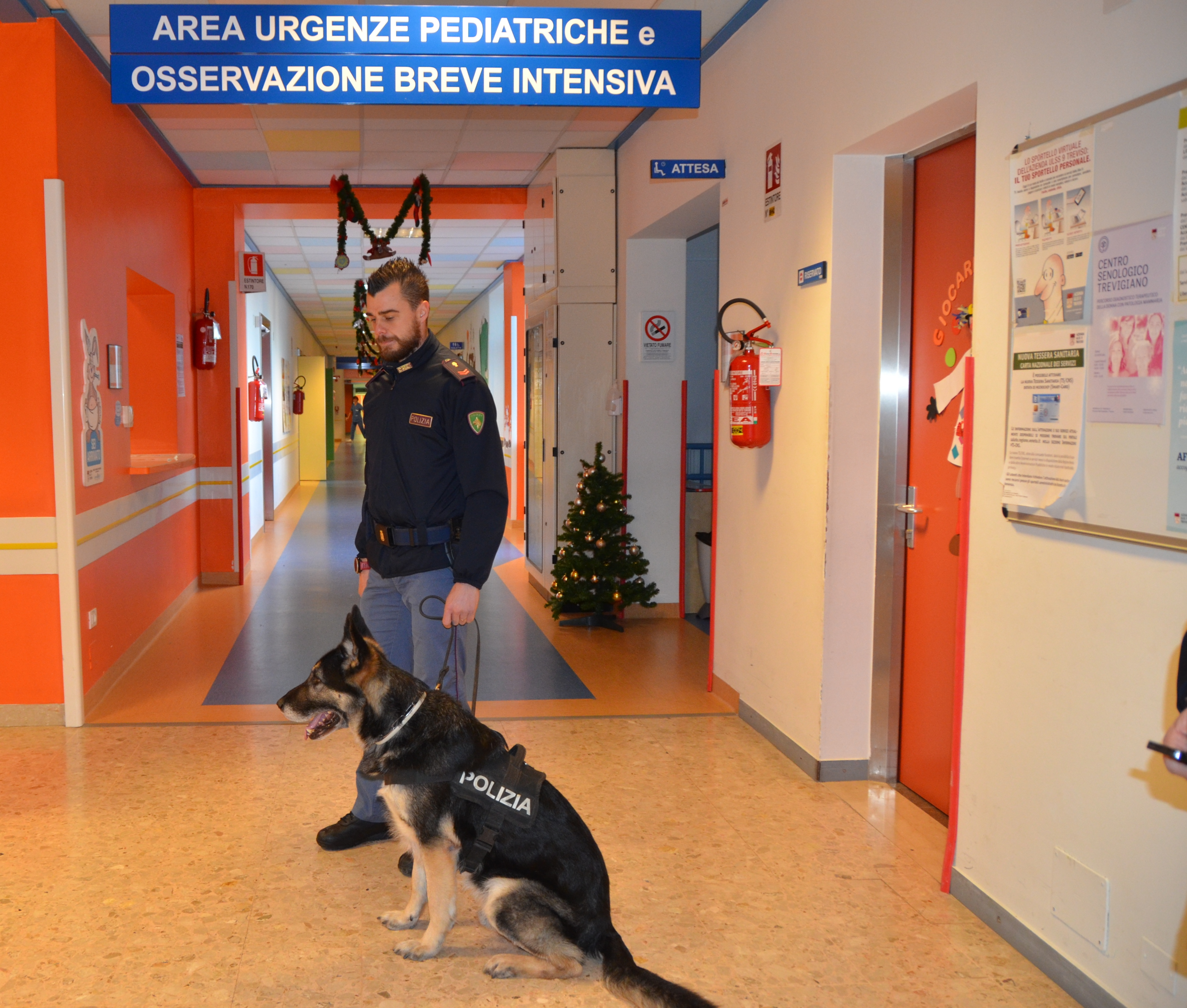 Polizia in pediatria