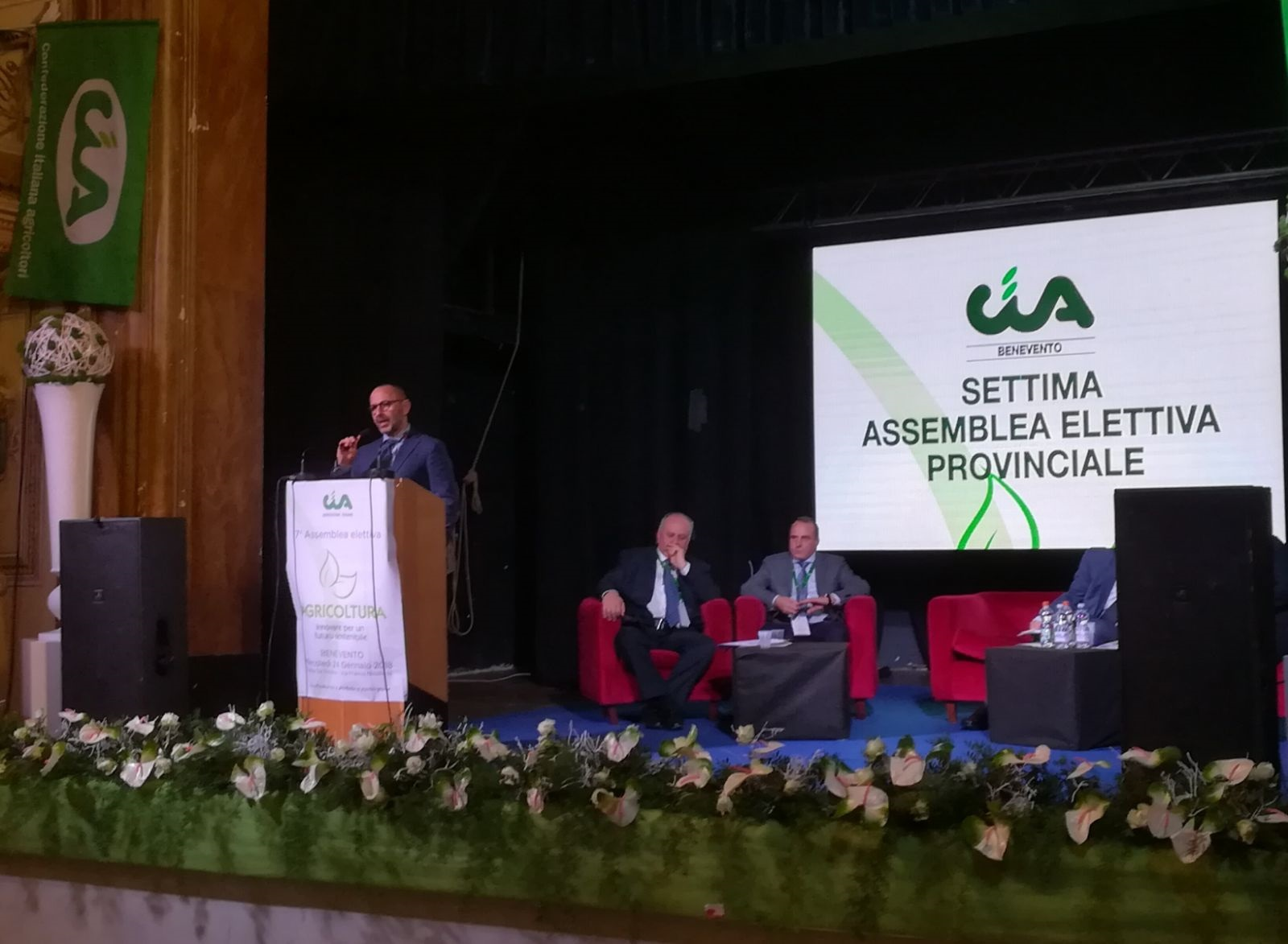 Il Questore interviene  all'assemblea CIA