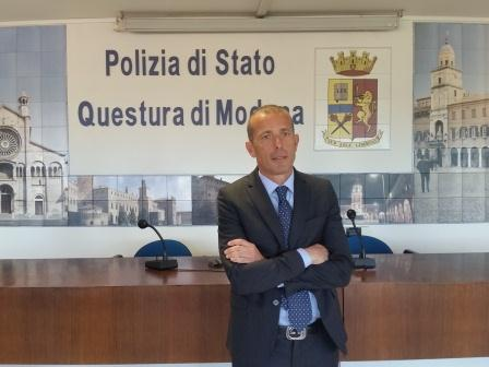 Presentato il nuovo Vicario del Questore di Modena