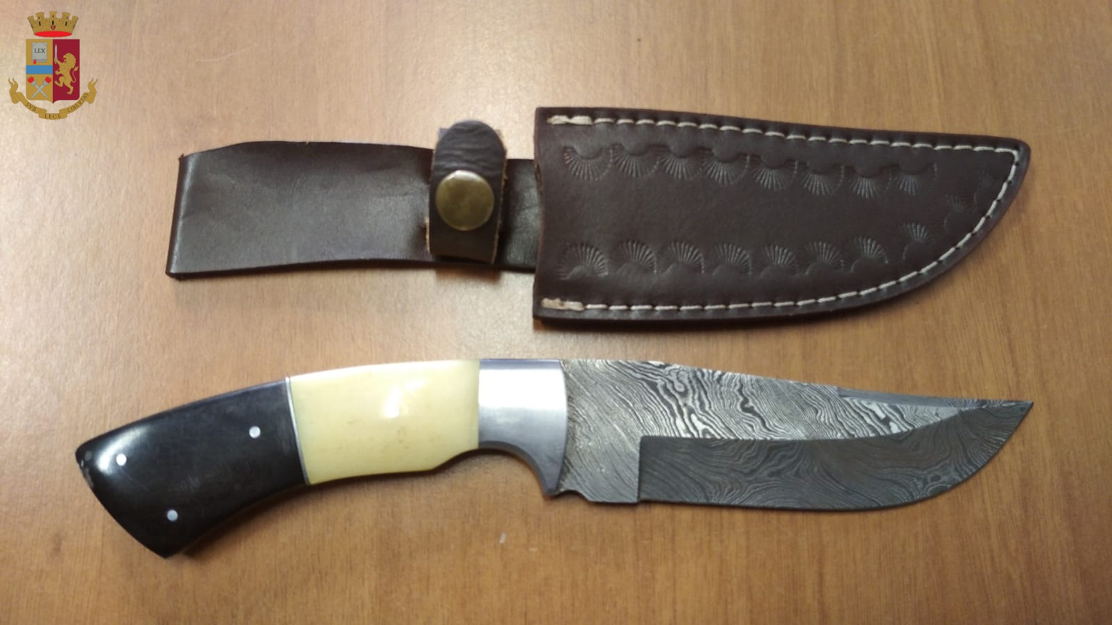 Coltello da Caccia sequestrato