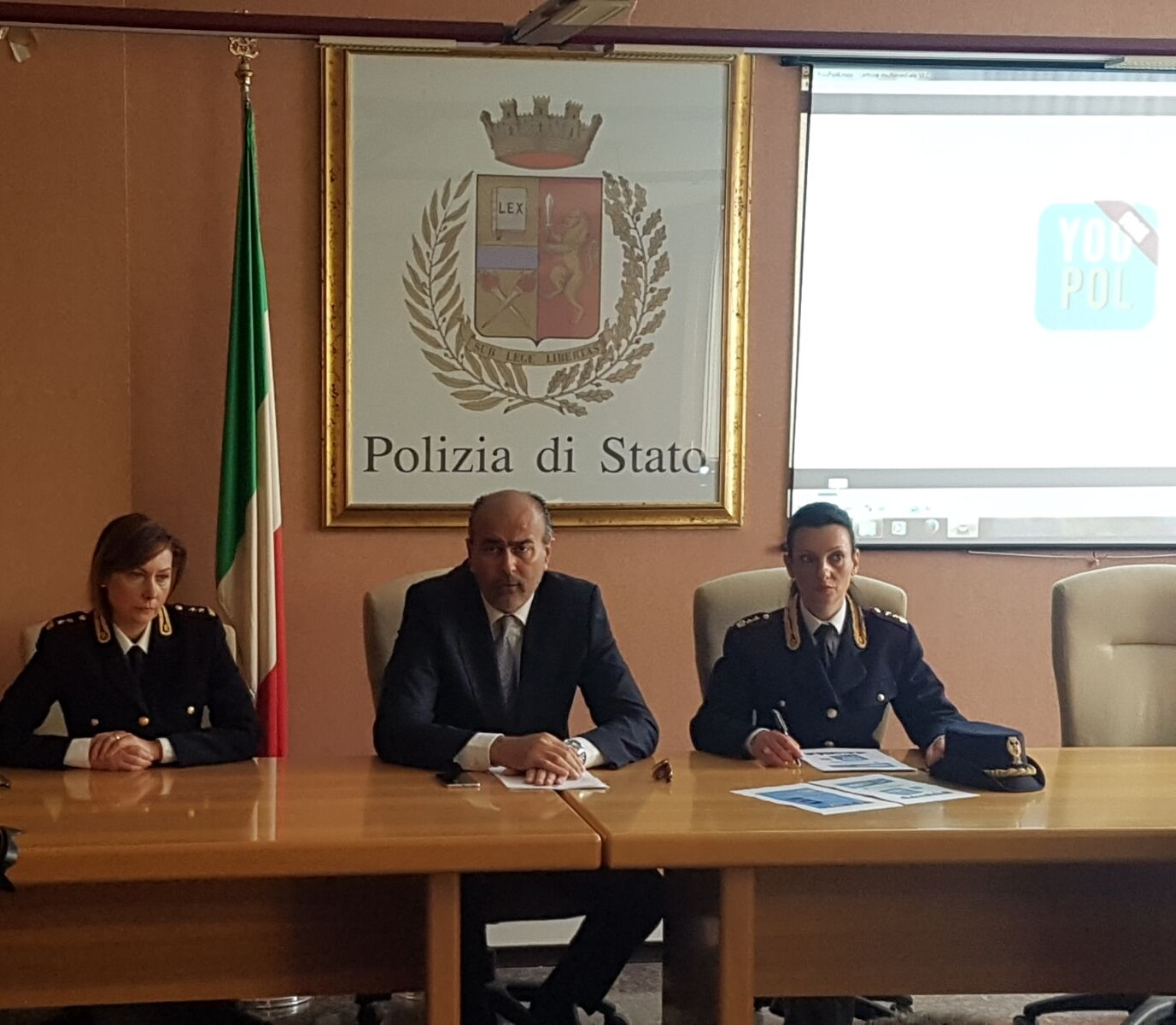 conferenza di presentazione You Pol