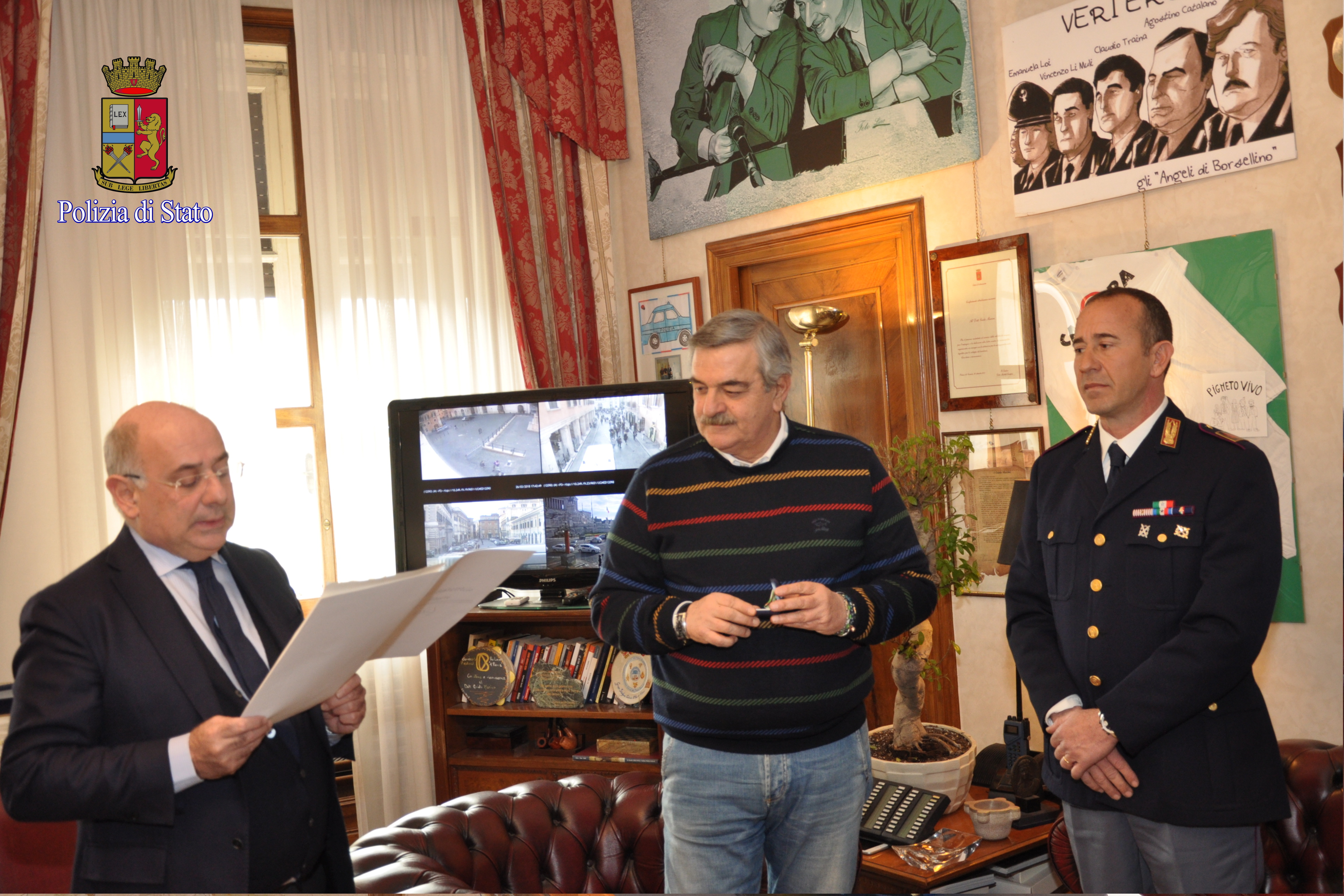 Polizia di stato questure sul web roma for Polizia di stato permesso di soggiorno
