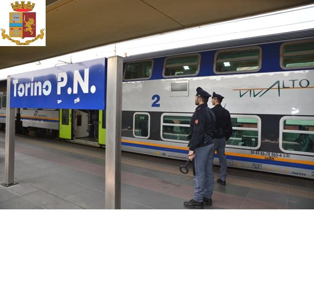 Torino: controlli Polfer
