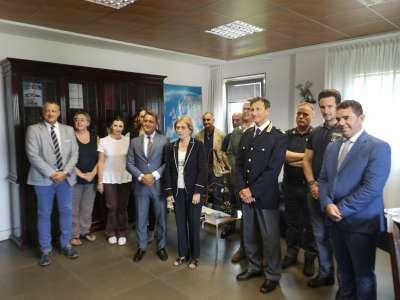 Visita in Questura del Prefetto della Provincia di Pordenone ...