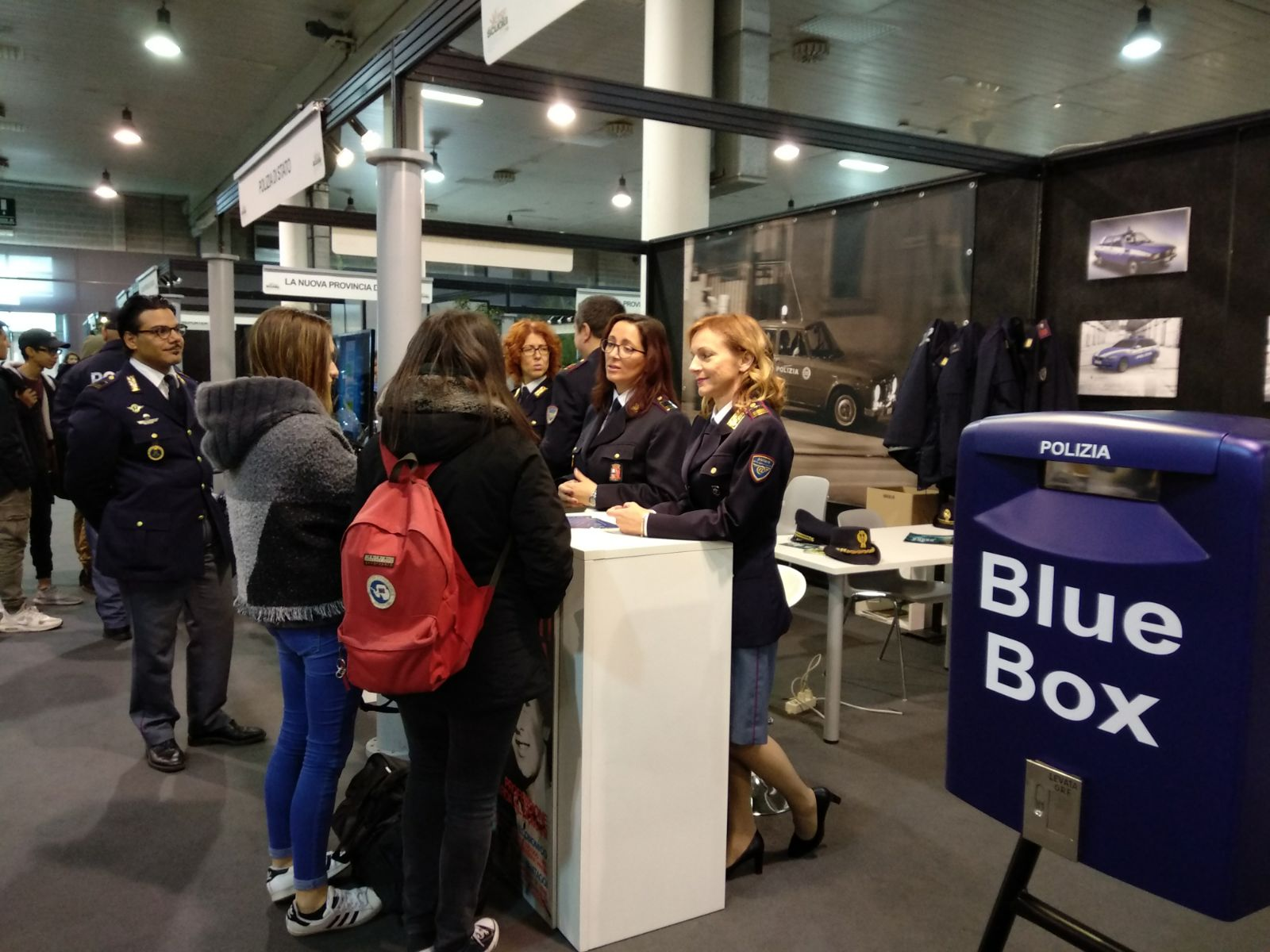 "Fiera Campagna ""Blue-Box""."