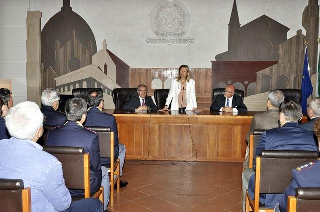 Il nuovo Prefetto di Firenze Laura Lega ieri mattina in ...