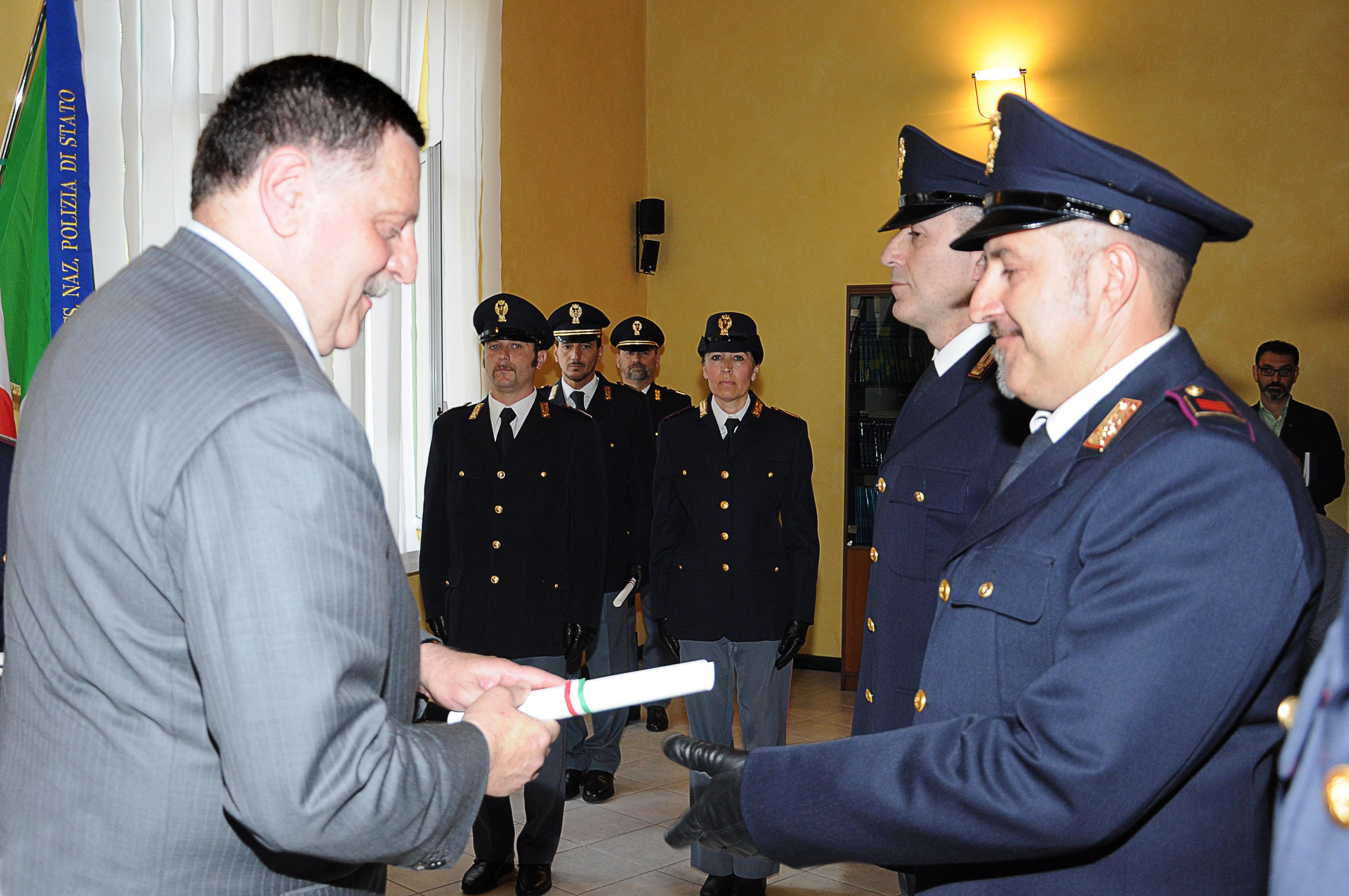 164° Anniversario della fondazione della Polizia