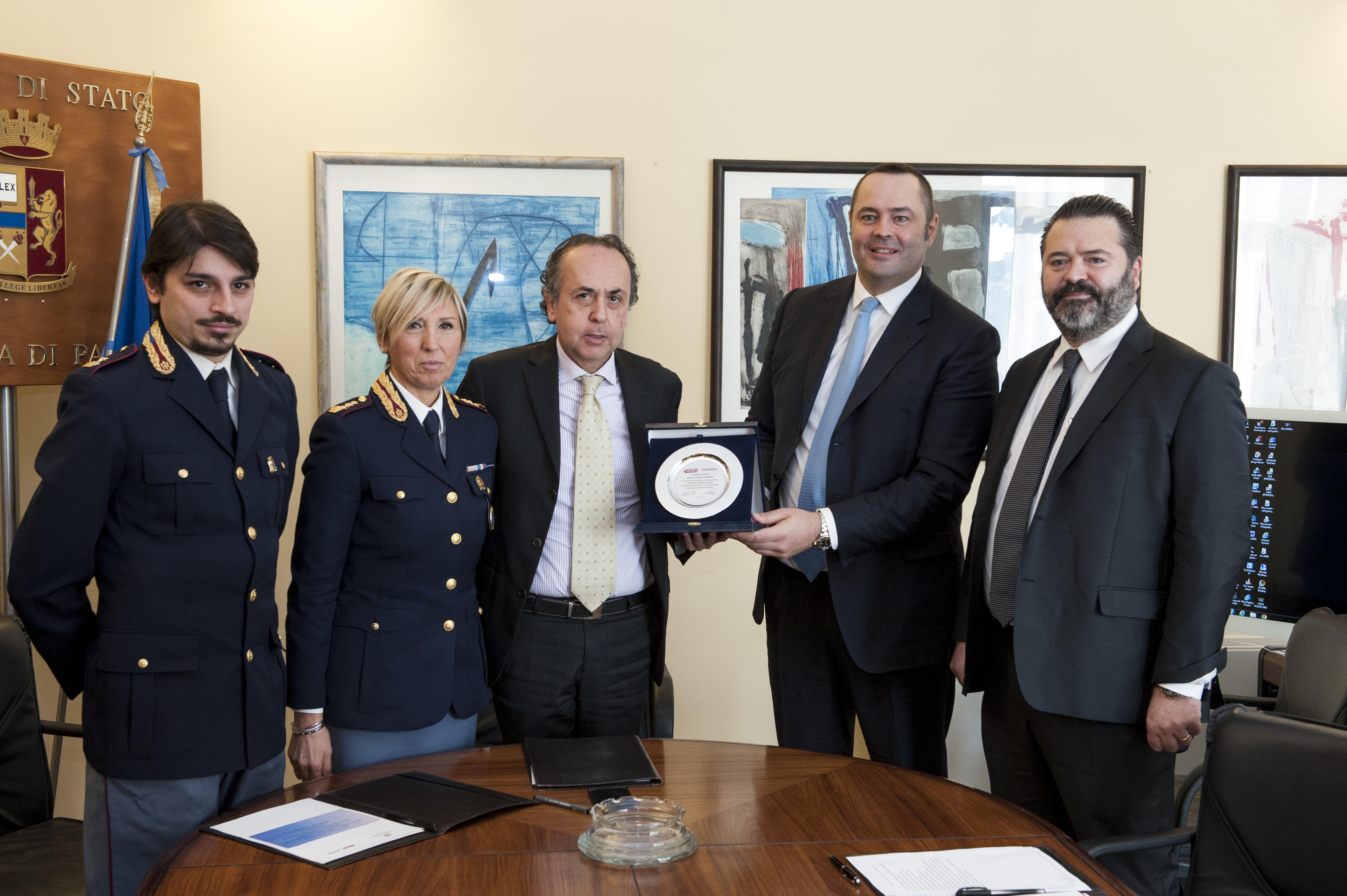 Protocollo d'intesa tra la Polizia di Stato e la Maschio ...