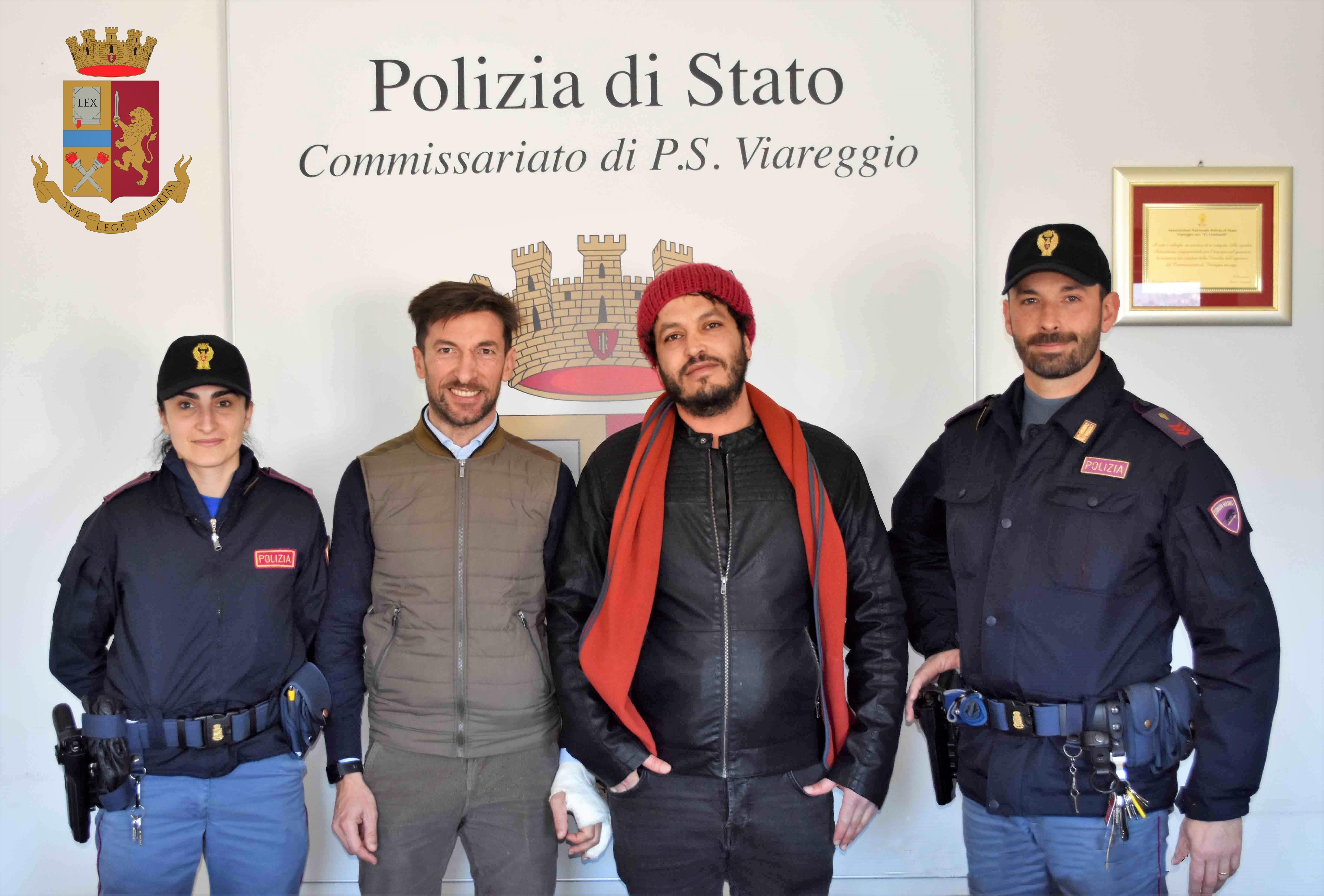 Il Commissariato di P.S. di Viareggio conclude con il lieto fine lo ...