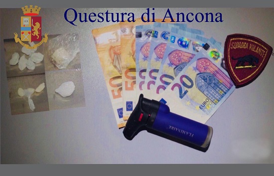 PUSHER ARRESTATO IN VIA MARCHETTI