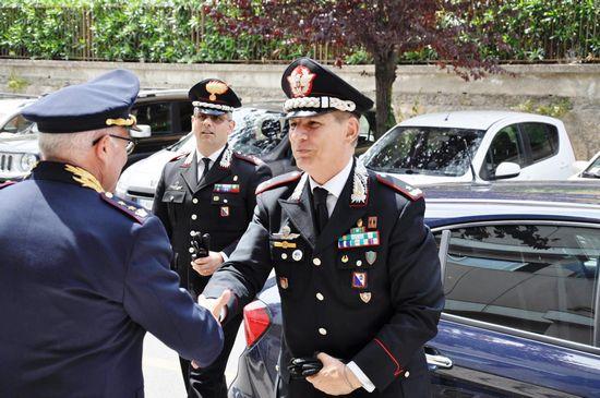 Visita del comandante della legione carabinieri calabria for Questura di cosenza permesso di soggiorno