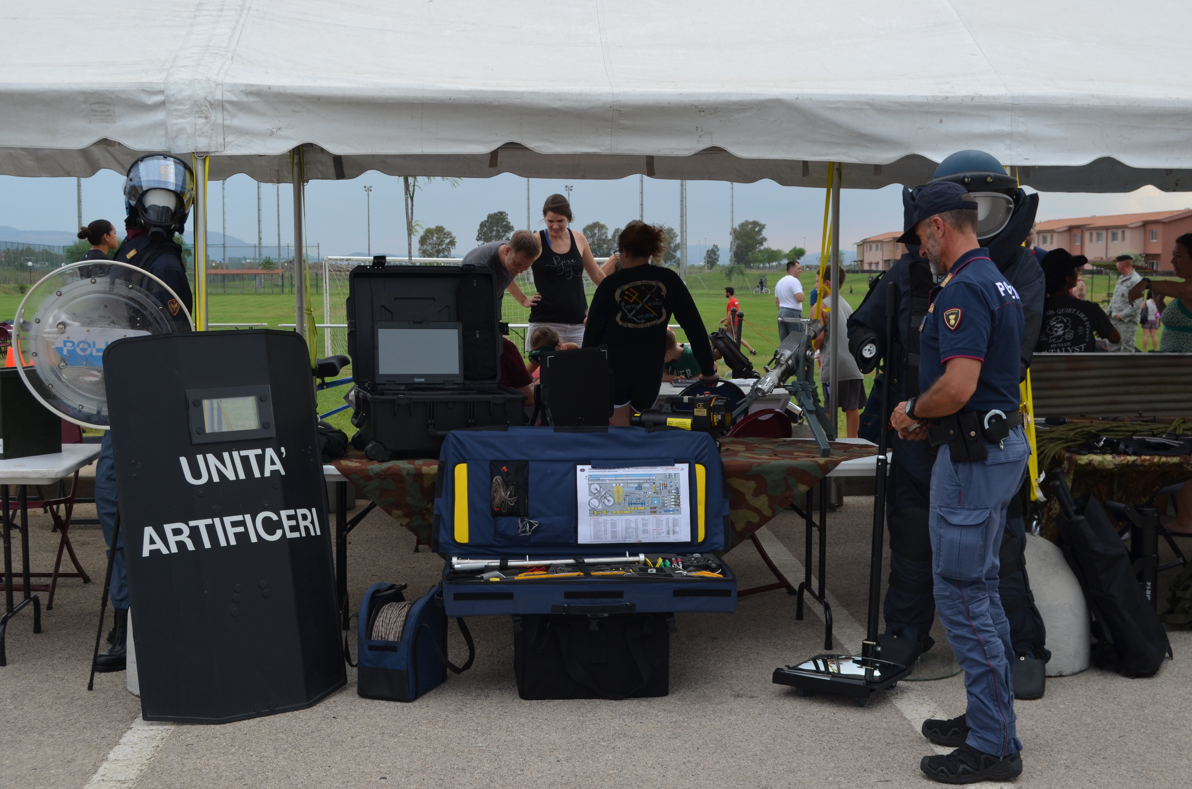 La Polizia di Stato al National Night Out