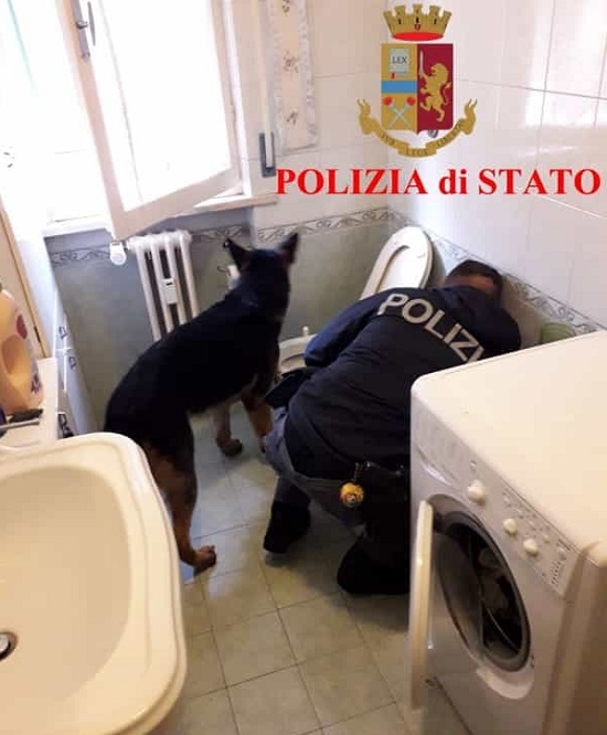 PROFUGHI PUSHER ARRESTATI DALLA MOBILE
