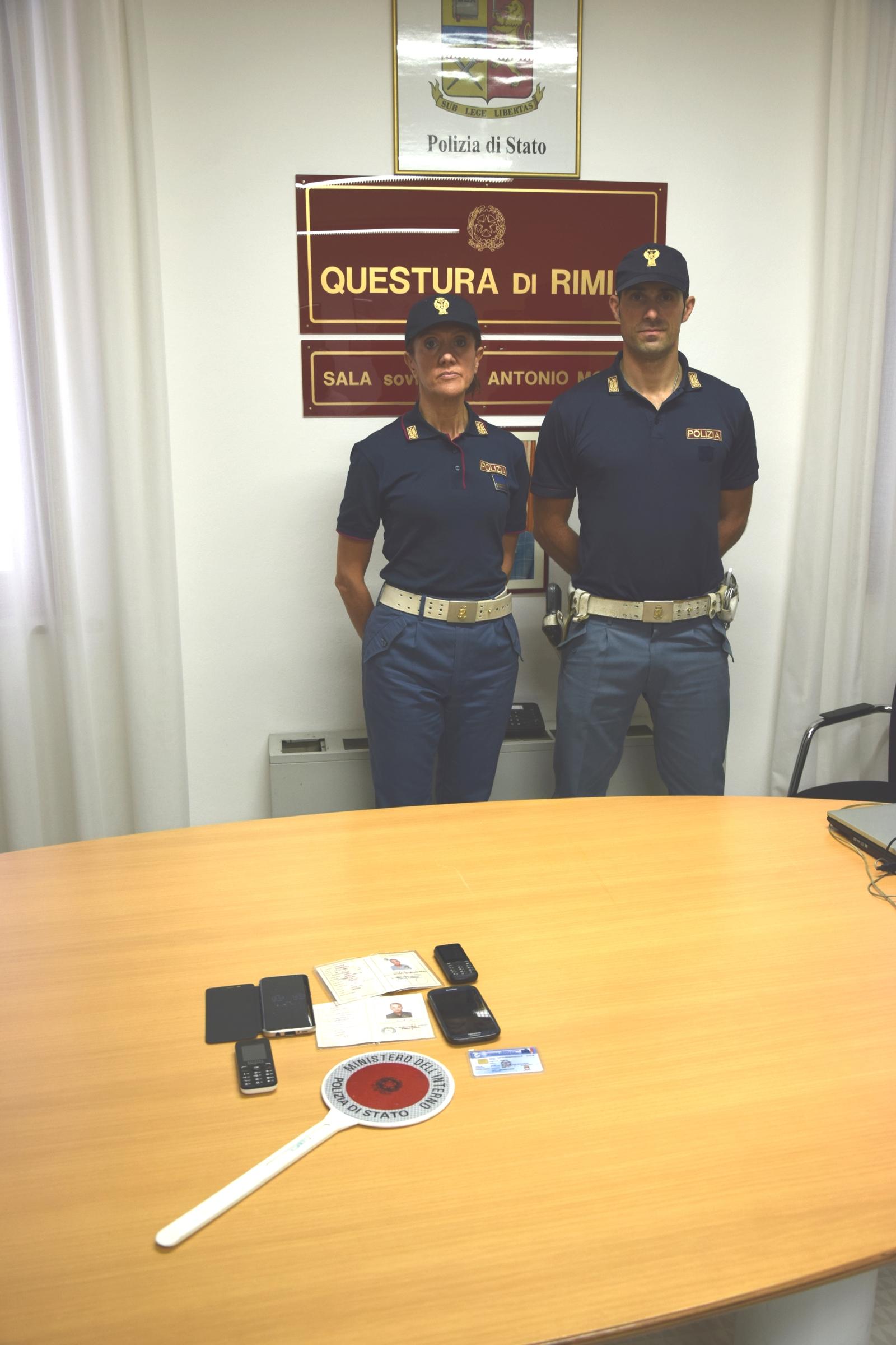 Squadra mobile cattura latitante a Rimini