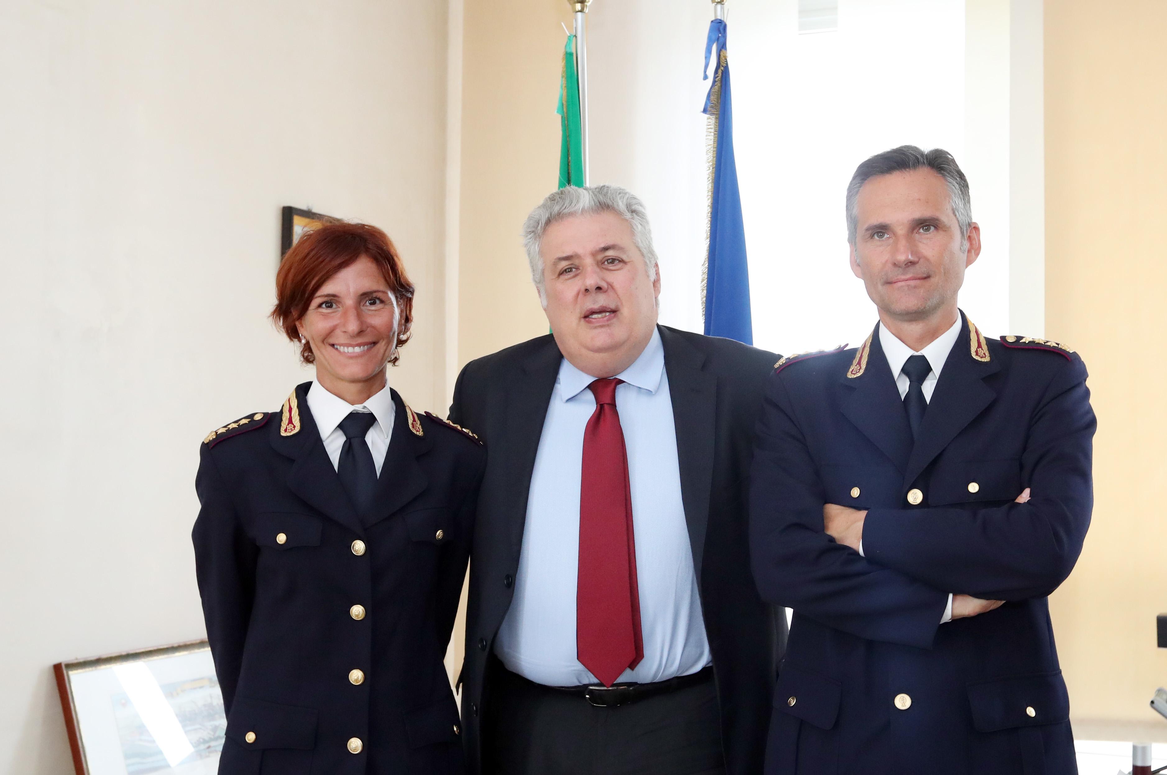 Due nuovi Dirigenti per la Questura di Brescia