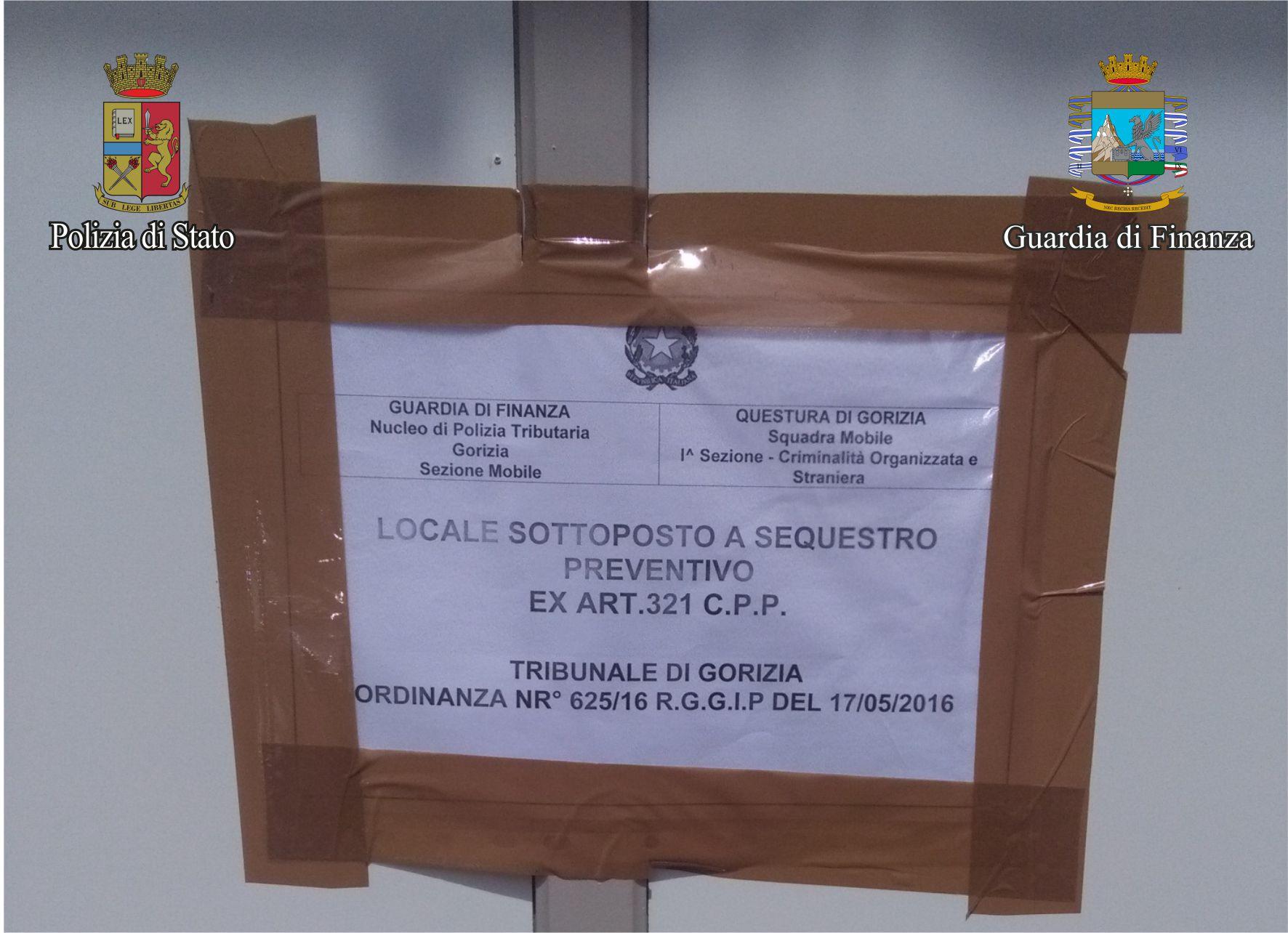 Ufficio Del Lavoro Gorizia : Prostituzione due arresti ed il sequestro dell immobile