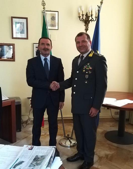 Il Questore di Bari riceve il neo Comandante Provinciale ...