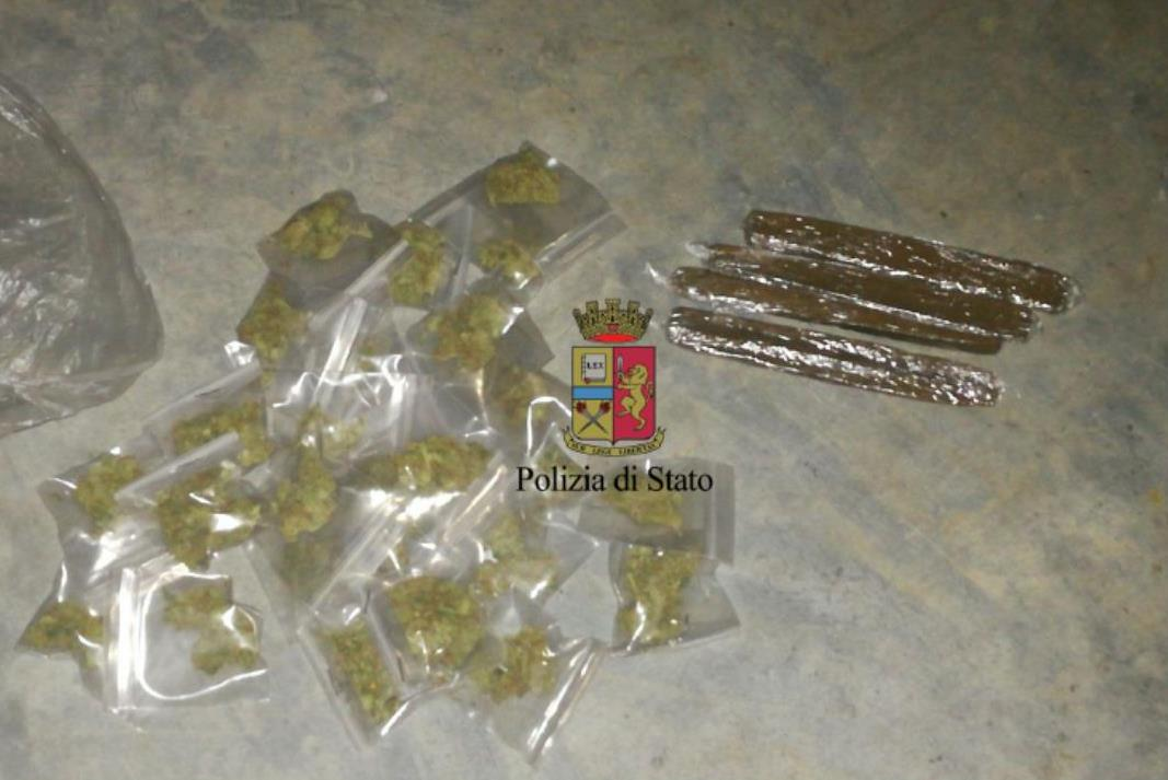 sequestrate 44 dosi di droga