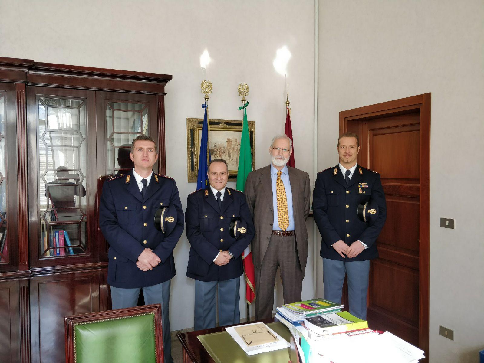 A Parma. Arrivati 3 nuovi Vice Ispettori della Polizia di Stato.