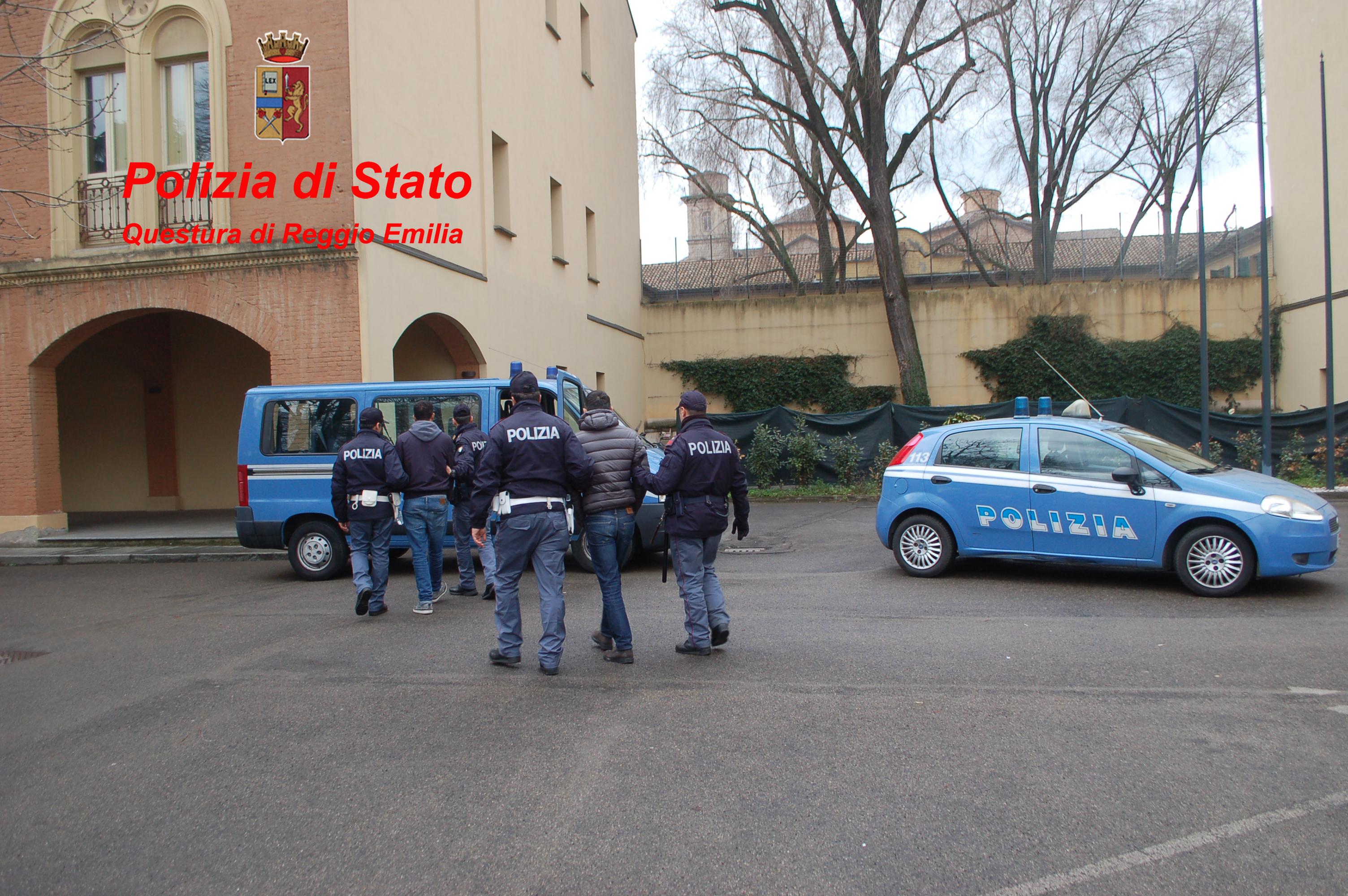 Polizia di stato questure sul web reggio emilia for Questure poliziadistato it stranieri
