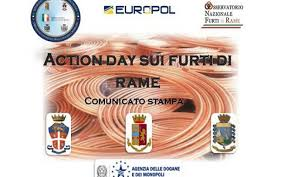 Action Day contro i furti di rame