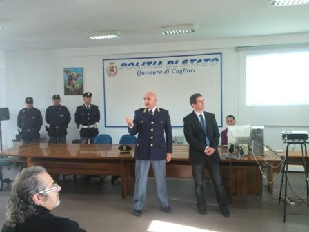 La Questura di Cagliari presenta il \