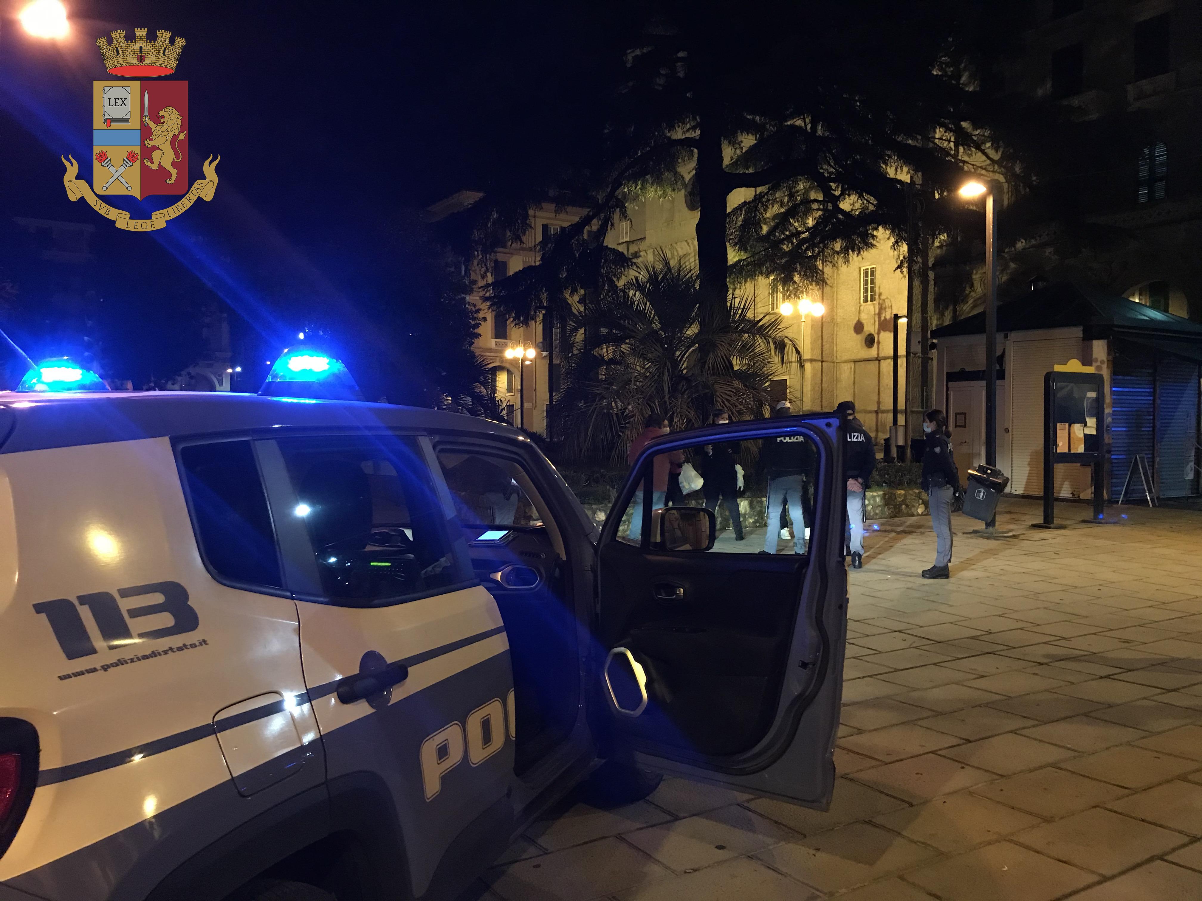 Polizia Di Stato Denunciato E Sanzionato Per Spaccio E Normativa Anticontagio All Umbertino