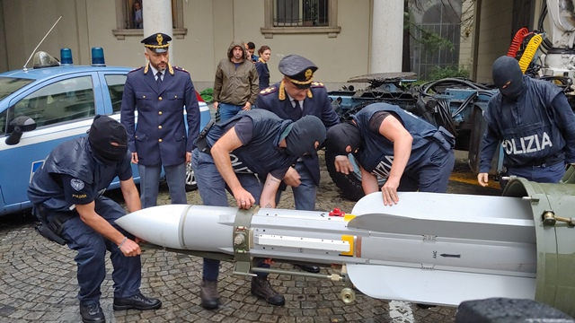 Operazione della DIGOS di Torino