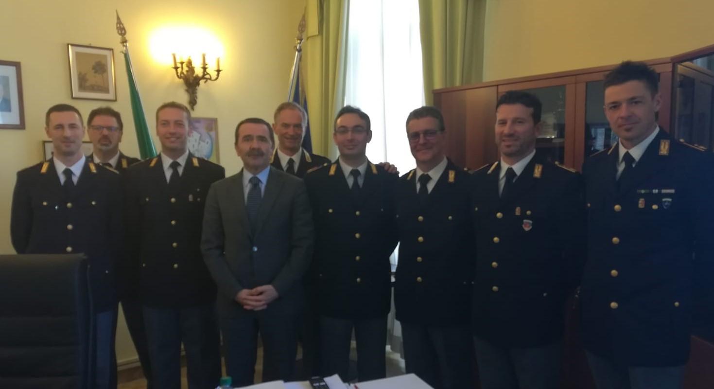 7 nuovi Vice Ispettori in Questura a Bari