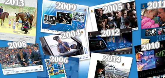 Calendario della Polizia di Stato 2022