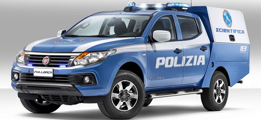 Fullback Polizia Scientifica - slider