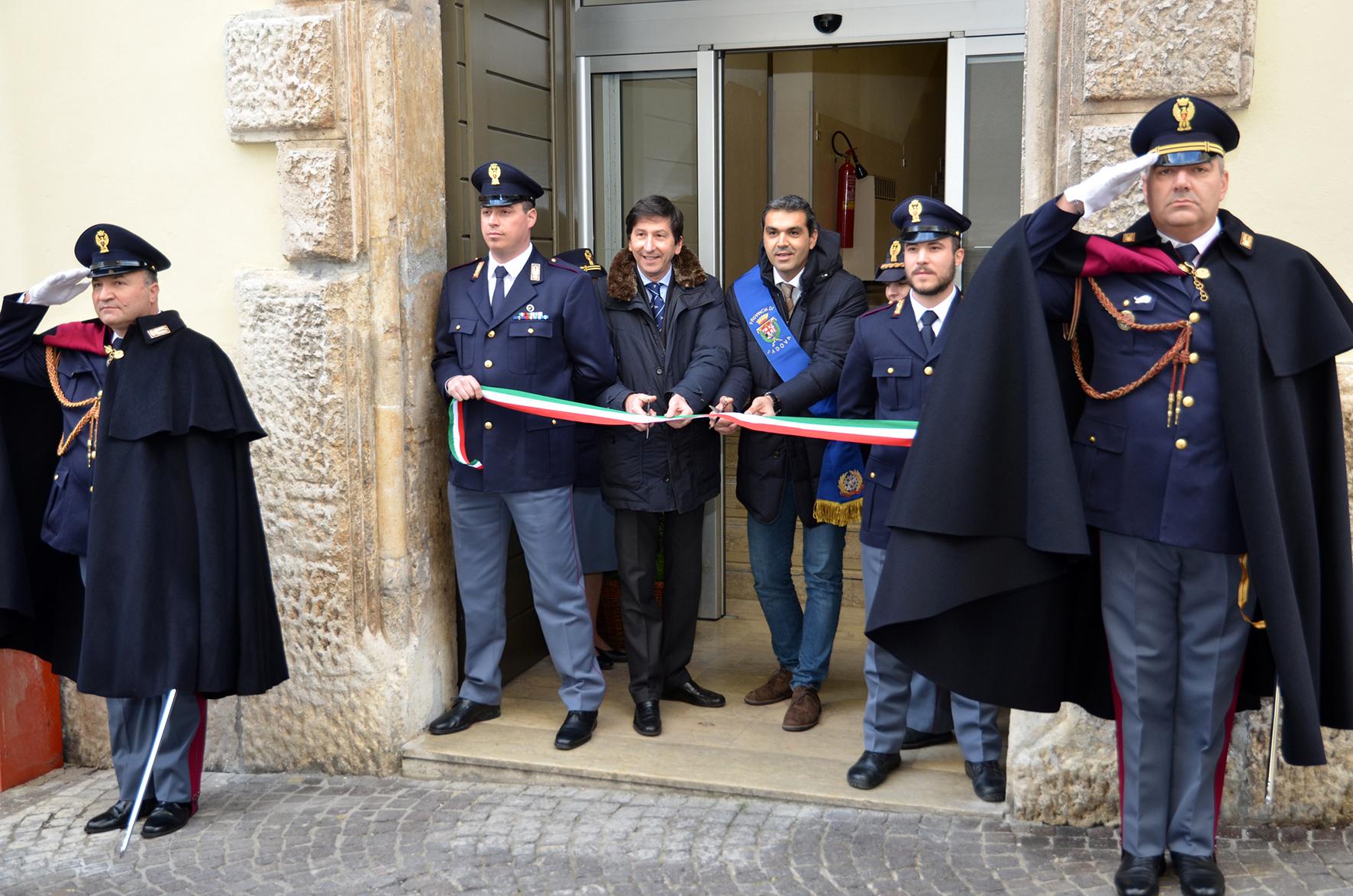 Inaugurata la nuova Palazzina Medievale della Questura