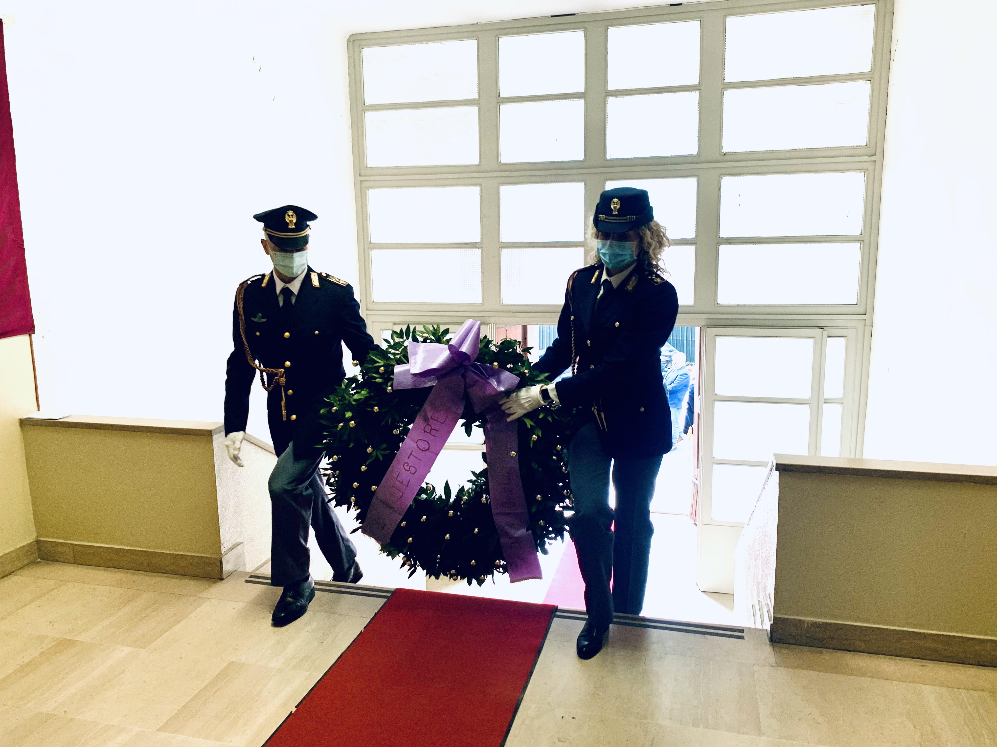 Foto cerimonia 169° Anniversario Polizia di Stato