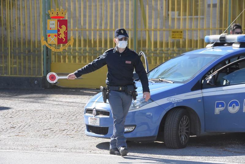 La Polizia di Stato intensifica i controlli sul territorio.