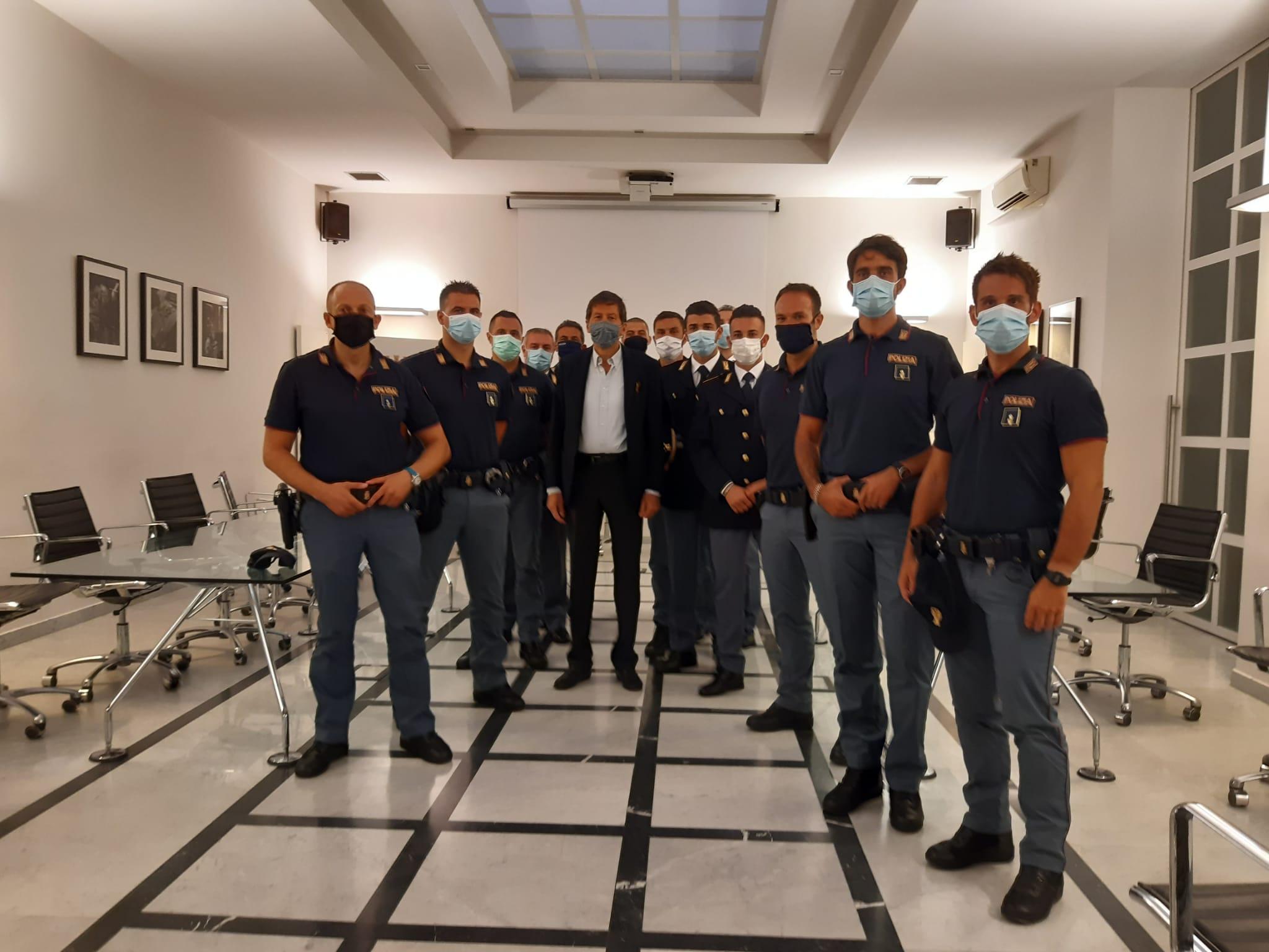 Presa in forza dei neo Vice Ispettori della Polizia di Stato