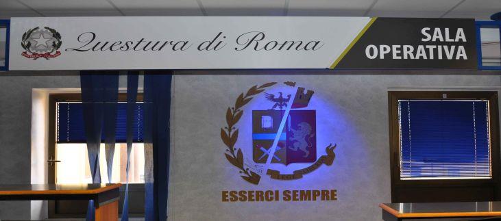 La sala operativa della Questura di Roma si apre per le ...