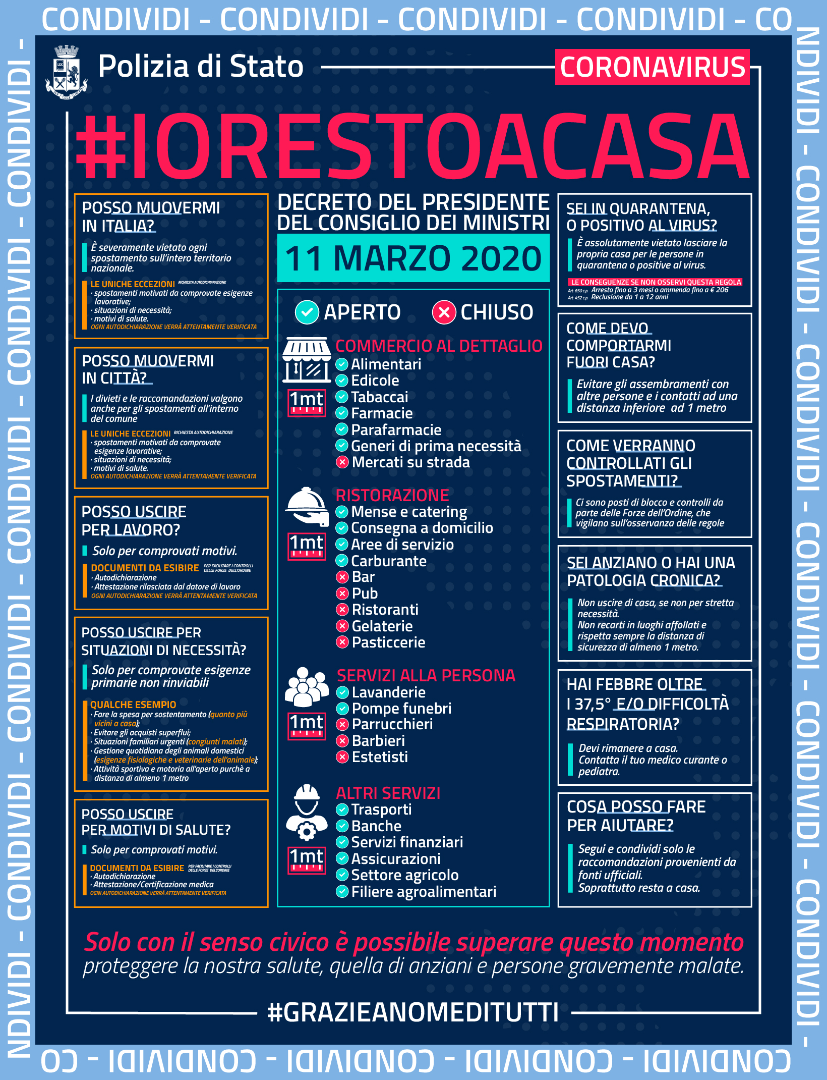 #iorestoacasa #questuradibologna #essercisempre