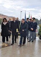 Il sottosegretario all'Interno Dr. Achille Variati in visita alla Questura
