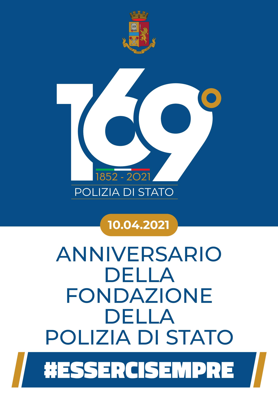 La Polizia Di Stato Celebra Il 169 Anniversario Della Sua Fondazione
