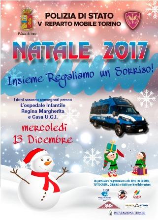 Torino la polizia di stato regala un sorriso ai piccoli for Polizia di stato torino permesso di soggiorno