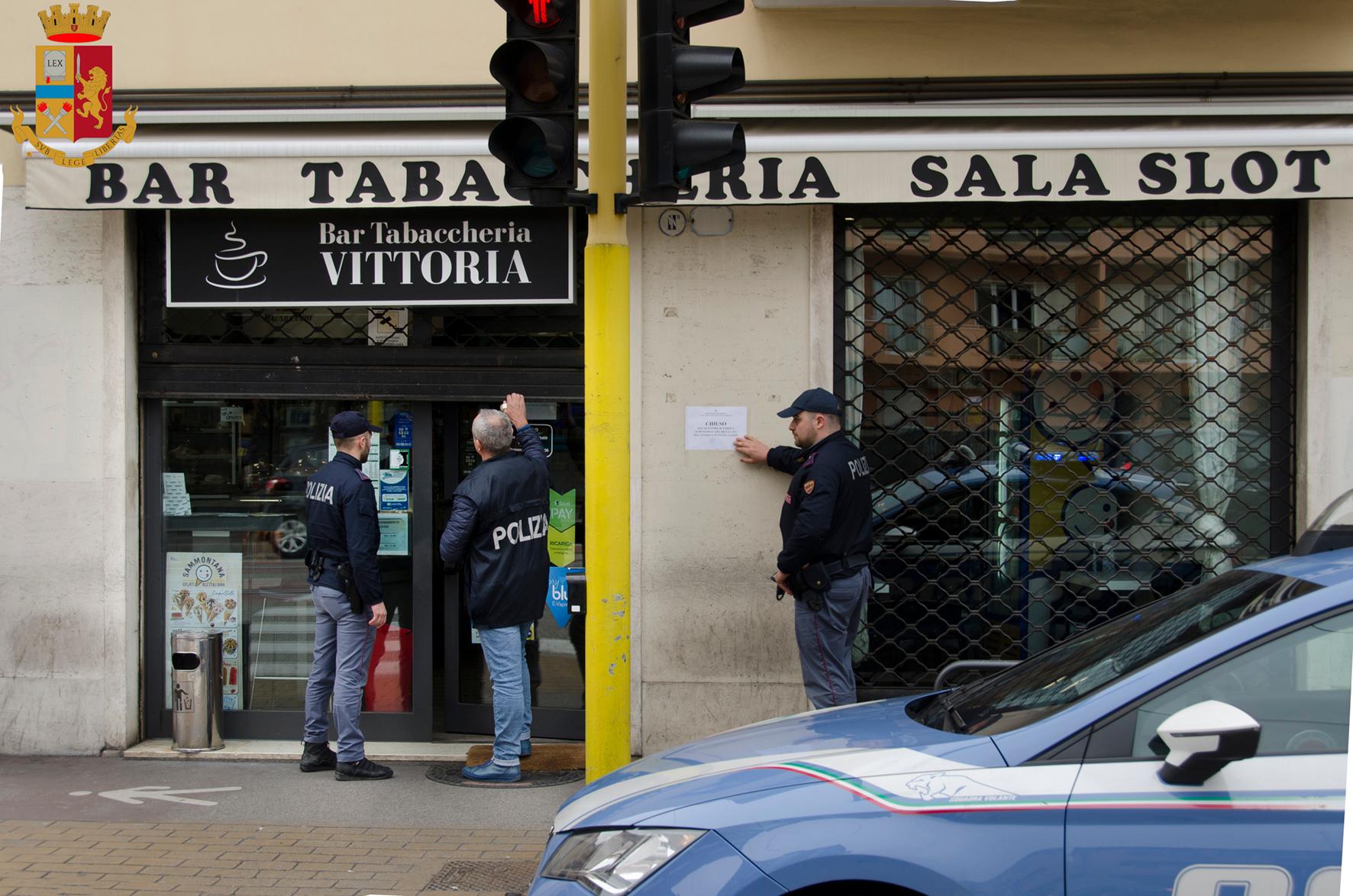 """Il Questore di Padova chiude per 15 giorni il """" Bar Vittoria"""" all ..."""
